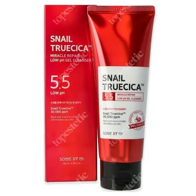 Some By Mi Snail Truecica Miracle Low pH Cleanser Łagodny i delikatny żel oczyszczający o niskiej wartości pH 100 ml