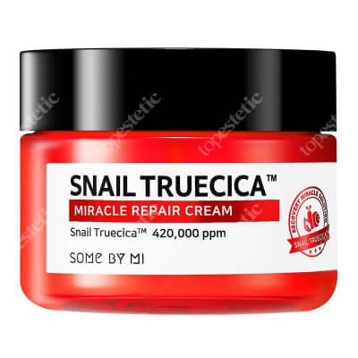 Some By Mi Snail Truecica Miracle Repair Cream Krem rewitalizujący z mucyną z czarnego ślimaka 60 ml
