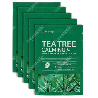 Some By Mi Tea Tree Calming Mask Kojąca maska z wyciągiem z drzewa herbacianego 5 x 25 g