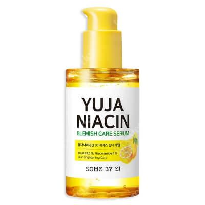 Some By Mi Yuja Niacin 30 Days Blemish Care Serum Serum rozjaśniające przebarwienia 50 ml
