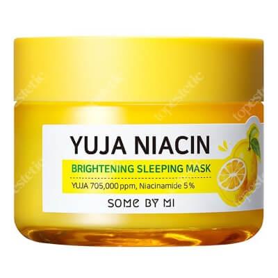 Some By Mi Yuja Niacin Brightening Sleeping Mask Rozjaśniająco - nawilżająca maska na noc 60 g