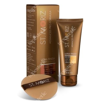 St Moriz Ultra Finish Błyskawiczny makijaż ciała HD, udoskonalający skórę 100 ml