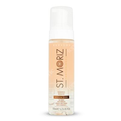 St Moriz Clear Professional Tanning Mouse Medium & Dark Bezbarwny mus samoopalający 200 ml
