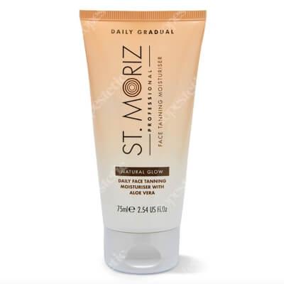 St Moriz Natural Glow Face Daily Tanning Moisturiser Samoopalający krem do twarzy na dzień 75 ml