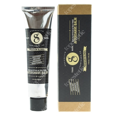 SuaVecito Premium Aftershave Eucalyptus Balsam po goleniu 113 g
