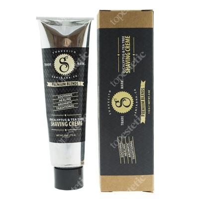 SuaVecito Premium Shaving Creme Krem do golenia z olejkiem eukaliptusowym 113 g