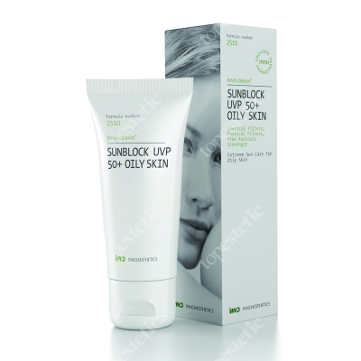 Innoaesthetics Sunblock UVP 50+ UVB/UVA Oily Skin Filtr 60 g
