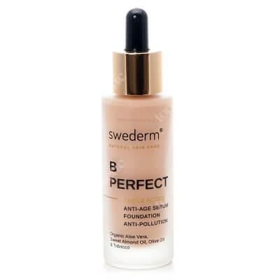 Swederm Bperfect Triple Action Fluid, serum przeciwzmarszczkowe i ochrona przed zanieczyszczeniami i promieniami słonecznymi 30 ml