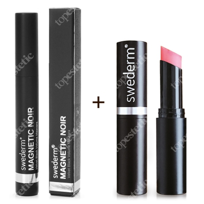 Swederm Chameleon Lip Balm + Magnetic Noir Mascara ZESTAW Balsam do ust 3,5 ml + Maskara 9,5 ml