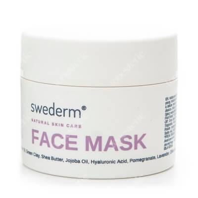 Swederm Face Mask Maska do twarzy 4w1 odżywienie, równowaga, oczyszczenie i delikatny peeling 100 ml