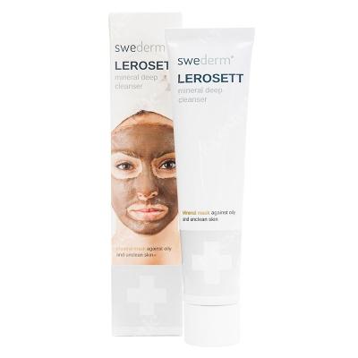 Swederm Lerosett Mineral Deep Cleanser Oczyszczająca maska z glinki wulkanicznej 70 ml
