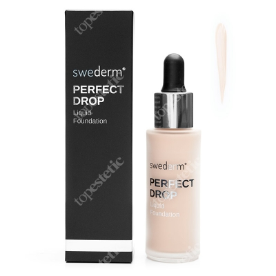 Swederm Perfect Drop Liquid Foundation Fluid odcień IVORY (naturalny ciepły) 30 ml