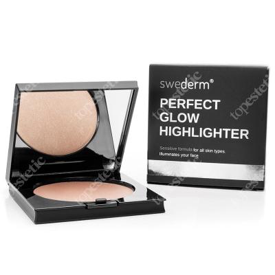 Swederm Perfect Glow Highlighter Złoty rozświetlacz do twarzy 9 g
