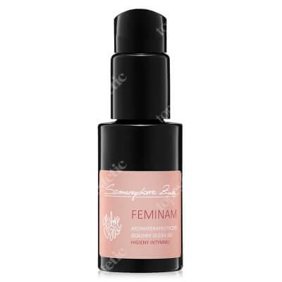 Szmaragdowe Żuki Feminam Aromaterapeutyczny, ziołowy olejek do codziennej pielęgnacji okolic intymnych 50 ml