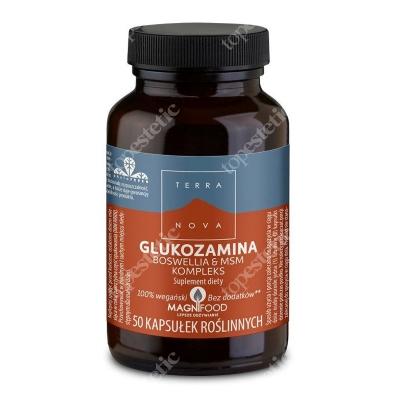 Terranova Glukozamina Boswellia i MSM kompleks 50 kaps. wegańskich