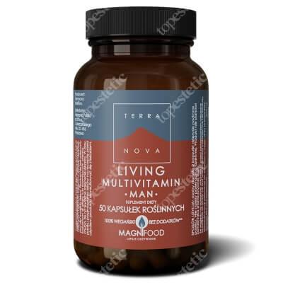 Terranova Living Multivitamin Man Suplement diety dla mężczyzn 50 kaps.