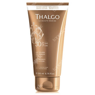 Thalgo Age Defence Sun Lotion SPF30 Przeciwzmarszczkowe mleczko do opalania SPF30 200 ml