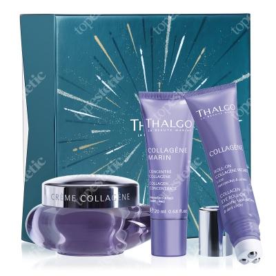 Thalgo Collagen Gift Box 2019 ZESTAW Krem 50 ml + Serum 20 ml + Żel 15 ml