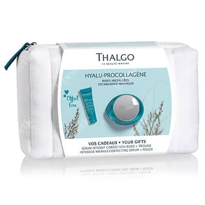 Thalgo Hyalu - Procollagene Set ZESTAW Korygujący przeciwzmarszczkowy żel-krem 50 ml + Intensywne serum korygujące zmarszczki 10 ml