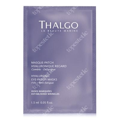 Thalgo Hyaluronic Eye Patch Masks Płatki z kwasem hialuronowym na okolice oczu 8 x 2 patchs