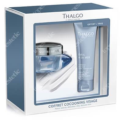 Thalgo Nutri Soothing Cream + Gentle Exfoliator ZESTAW Odżywczo-łagodzący krem 50 ml + Delikatny peeling 50 ml