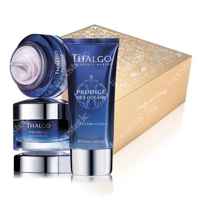 Thalgo Prodige Des Oceans Gift Box 2018 ZESTAW Krem odmładzająco-regenerujący 50 ml + Intensywna maska 50 ml + Delikatny krem-balsam do ciała 50 ml