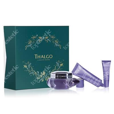 Thalgo Silicium Marin Correct & Firm Gift Set 2020 ZESTAW Krem na dzień 50 ml + Serum 30 ml + Krem na okolice oczu 10 ml