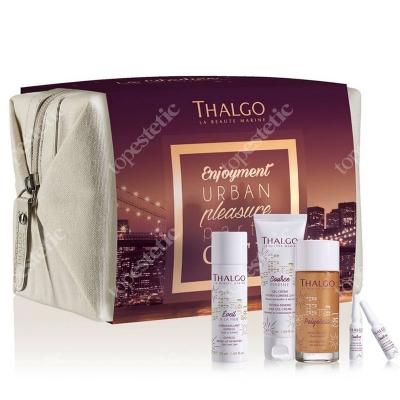 Thalgo The City Dweller Kit ZESTAW Gel Cream 50 ml + Gentle MakeUp 50 ml + Concentrate 2x1,2 ml + Body Oil 30 ml