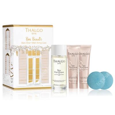 Thalgo Well Being Care Discovery ZESTAW Odżywczy olejek monoi 50 ml + Żel pod prysznic 30 ml + Mleczko do ciała 30 ml + Pastylki do kąpieli 2 x 25g