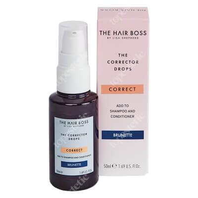 The Hair Boss Brunette Corrector Kropelki korygujące ciemny kolor włosów 50 ml
