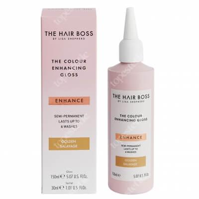 The Hair Boss Colour Enhance Gloss Golden Balayage Rozświetlacz podkreślający ciepły odcień włosów 150 ml