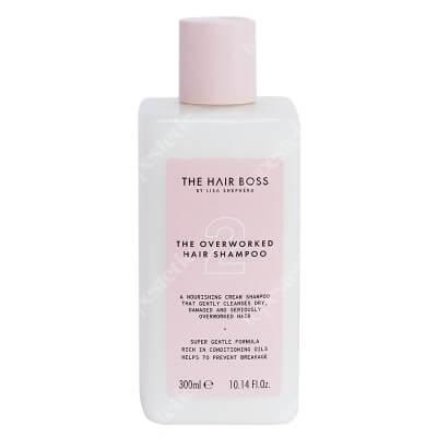The Hair Boss Overworked Hair Shampoo Szampon do włosów przeciążonych 300 ml