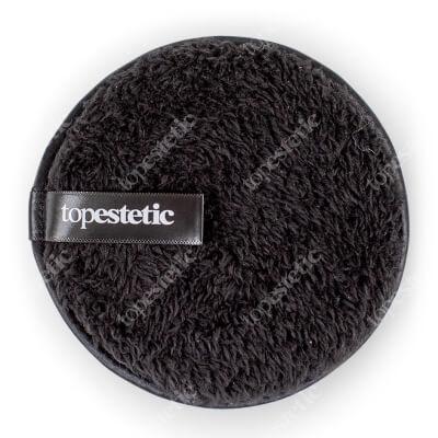 Topestetic (R) Gąbka Do Demakijażu Topestetic Okrągła, czarna 1 szt