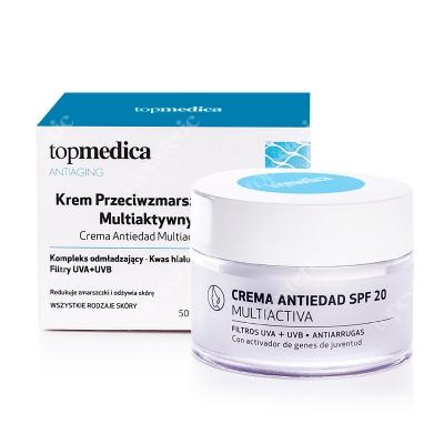 topmedica Crema Antiedad SPF20 Multiactiva Krem przeciwzmarszczkowy multiaktywny SPF 20 50 ml