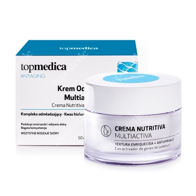 topmedica Crema Nutritiva Multiactiva Krem Odżywczy Multiaktywny 50 ml