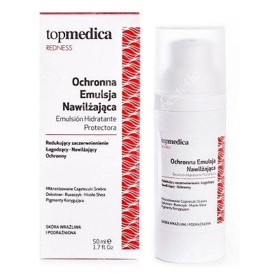 topmedica Emulsion Hidratante Protectora Ochronna emulsja nawilżająca 50 ml