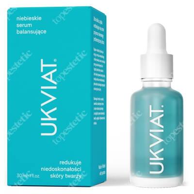Ukviat Niebieskie Serum Balansujące Redukuje niedoskonałości skóry twarzy 30 ml