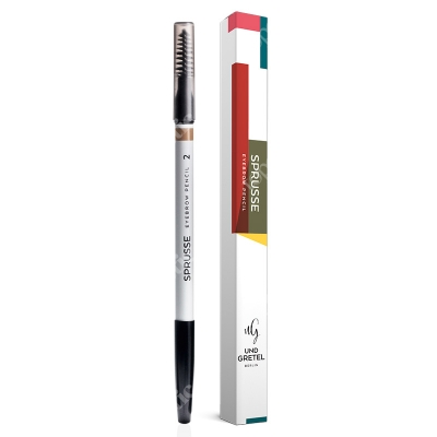 Und Gretel Sprusse Eyebrow Pencil 2 Kredka do brwi (kolor Warm Brown) 1,3 g