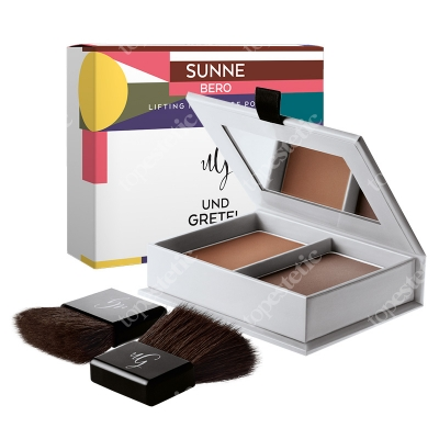Und Gretel Sunne Lifting Modellage Powder Puder do konturowania i modelowania (kolor Bero) 13 g