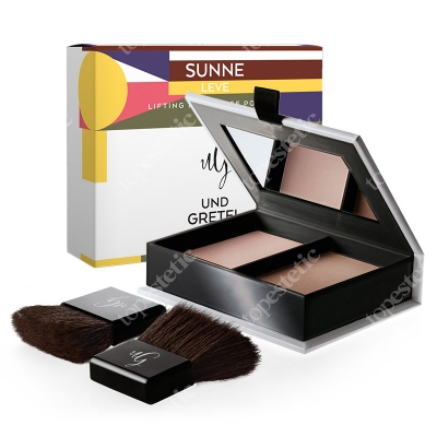 Und Gretel Sunne Lifting Modellage Powder Puder do konturowania i modelowania (kolor Leve) 13 g