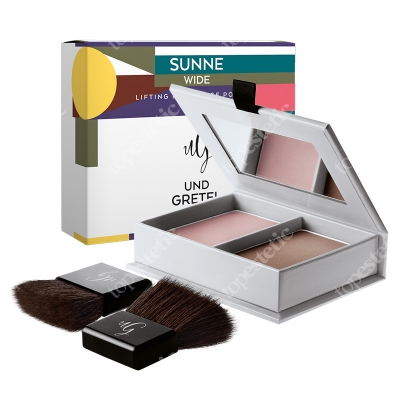 Und Gretel Sunne Lifting Modellage Powder Puder do konturowania i modelowania (kolor Wide) 13 g
