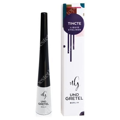 Und Gretel Tincte Liquid Eyeliner Deepest Black Eyeliner w płynie 3,5 ml