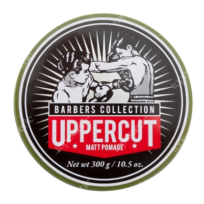 Uppercut Deluxe Matt Pomade Barbers Collection Matowa pasta do włosów XL 300 g