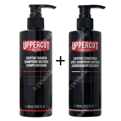 Uppercut Deluxe Shampoo + Conditioner ZESTAW Szampon i odżywka do włosów 240 ml, 240 ml