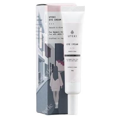 Uteki Uteki Eye Cream Delikatny krem przeciwstarzeniowy pod oczy 10 g