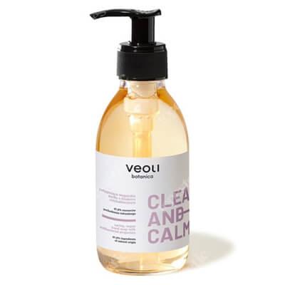 Veoli Botanica Clean And Calm Pielęgnujące wegańskie mydło do mycia rąk o działaniu antybakteryjnym 195 ml