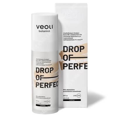 Veoli Botanica Drop of Perfection Fair Wygładzająco-kryjący krem BB o lekkiej formule z kwasem hialuronowym (kolo fair 1)30 ml