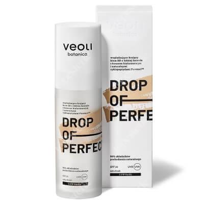 Veoli Botanica Drop of Perfection Vanilla Wygładzająco-kryjący krem BB o lekkiej formule z kwasem hialuronowym (kolor vanilla 2)30 ml