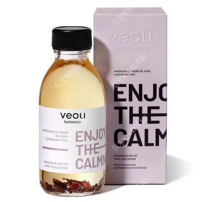 Veoli Botanica Enjoy The Calmness Relaksujący olejek do ciała z płatkami róży 150 ml