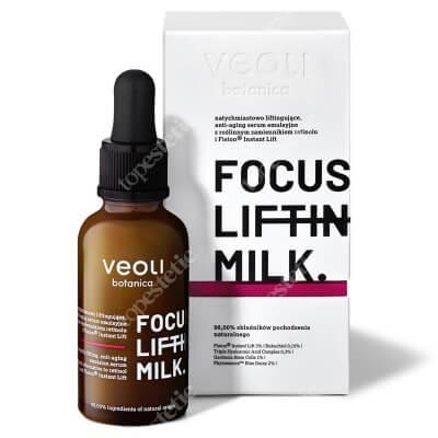 Veoli Botanica Focus Lifting Milk Natychmiastowo liftingujące serum emulsyjne 30 ml